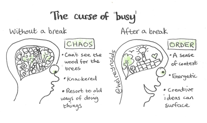 The curse of busy